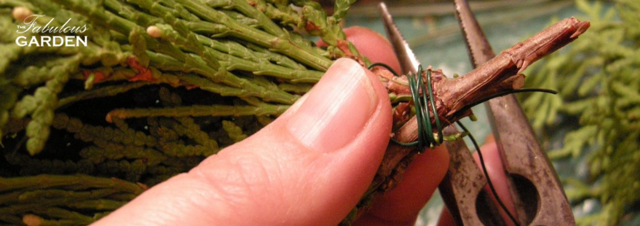 Pliers, wire and a thumb