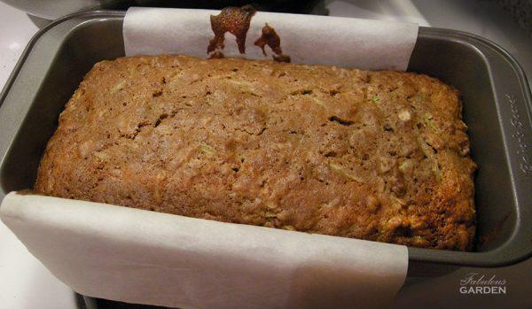 The Best Zucchini Bread in Baking Pan