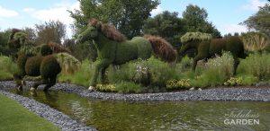 mosaiculture wild horses
