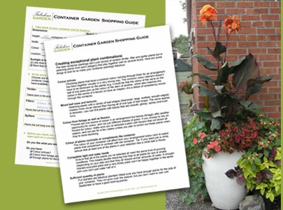 Download the Container Garden Shopping Guide